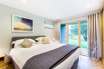 Just one of the comfortable bedrooms, all furnished with super king size beds.