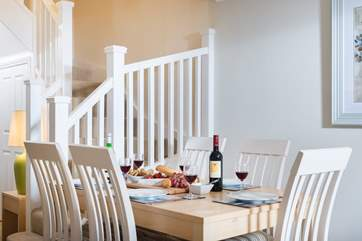Dine at home or visit the very local 'Greenhouse restaurant' (book in advance to avoid disappointment).