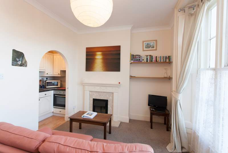 This small but sweet apartment offers everything you need for a stay on the Isle of Wight