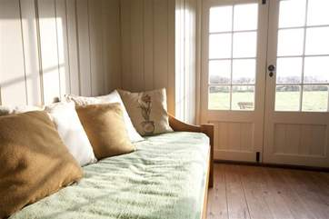 Relax with the doors open wide and enjoy listening to the silence of the countryside