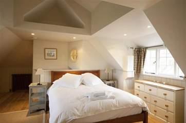 Get a good nights sleep in the master bedroom