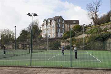 For the more active, why not play a spot of tennis on the courts opposite the apartment.