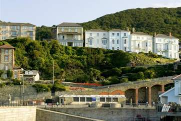 Ventnor is located on the south of the Island, just beneath St Boniface Down