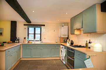 A well-equipped and spacious kitchen. Perfect for whipping up a feast or simply preparing a treat for two.