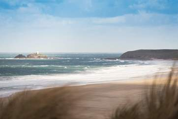 The beaches at Gwithian are only a few minutes' drive away.
