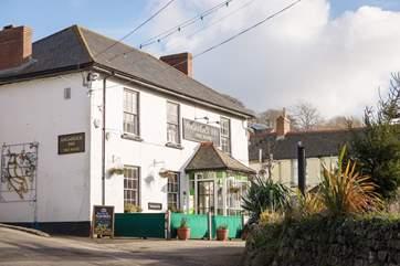 The friendly village pub.