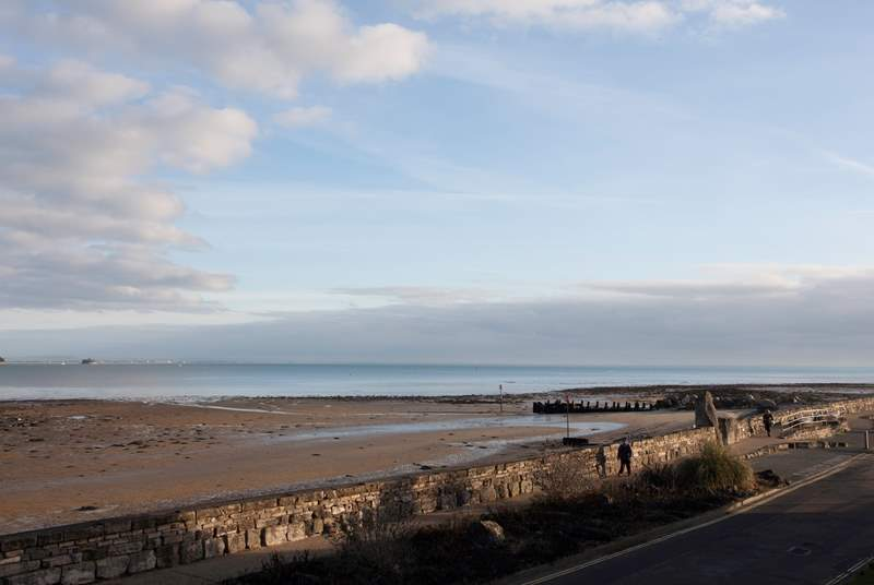 It's just a short walk along the seafront into Seaview village.