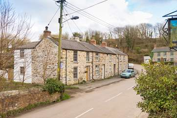 The cottage is in the hamlet of Bridge, just over a mile from the beach at Portreath and with a handy bus stop close by you could leave the car behind.
