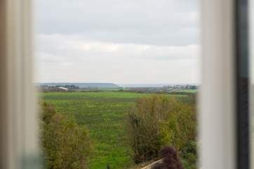 The view from bedroom 4.