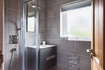 The en suite shower-room to the master bedroom. (Bedroom 1).