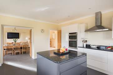 Plenty of room to prepare meals, a picnic for the beach or for a bit of holiday baking time with the little ones.