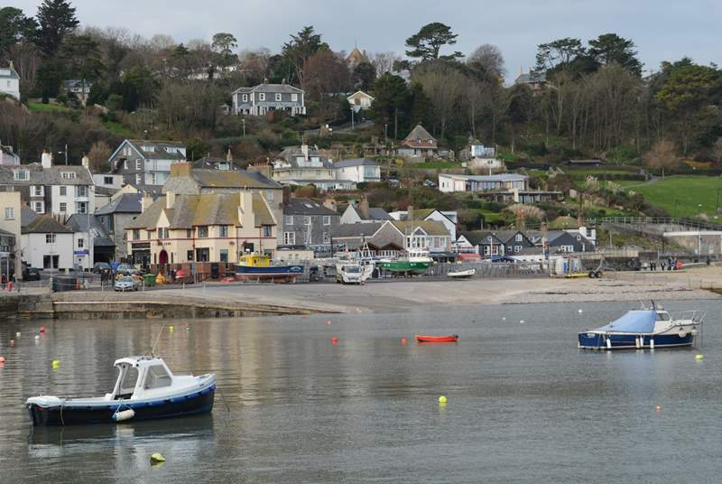 Nearby Lyme Regis has it all, fossils, tea shops, pubs and the beach.