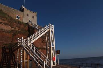 Jacob's Ladder at Sidmouth.