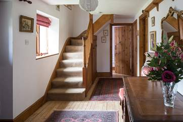 The ground floor cloakroom leads from the hall way,