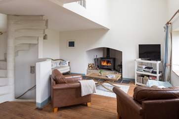 Light and airy open plan living areas which offer the most picturesque views all year round.
