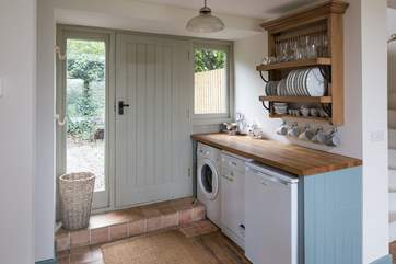 Step into the cottage on the ground floor, which leads you straight into the glorious kitchen-area.