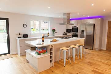Enjoy cooking in this state of the art kitchen