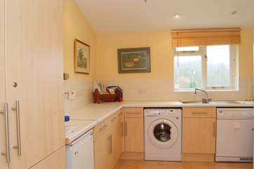 There is a really large utility room and beyond it a lovely ground floor shower room