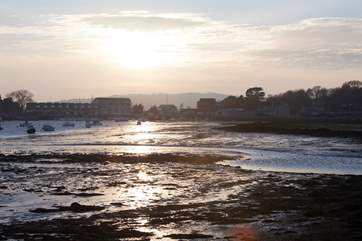 Bembridge Harbour is a perfect location for beautiful walks