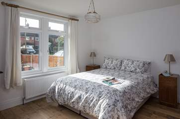The master bedroom is a sanctuary for a great nights sleep