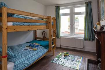 The bunk room is perfect for the children to get a good nights sleep before another day exploring the Isle of Wight