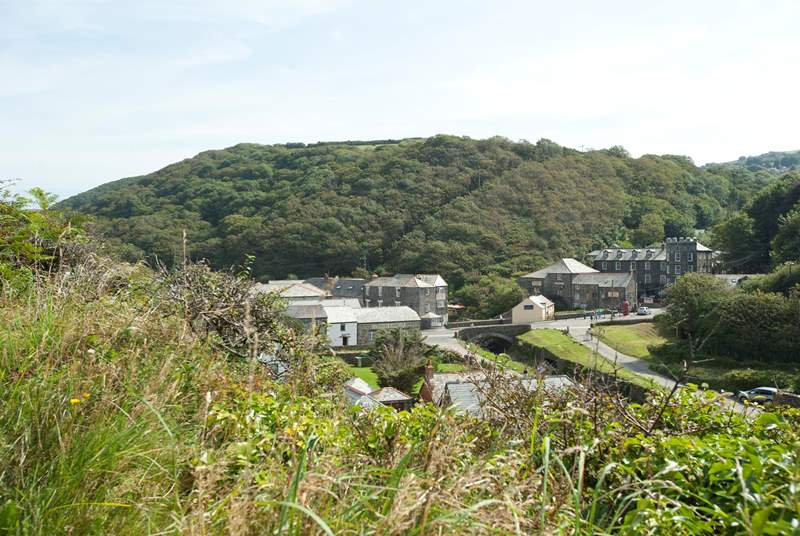 Delightful Boscastle is only a short drive along the coast.