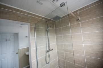 The ground floor shower-room.