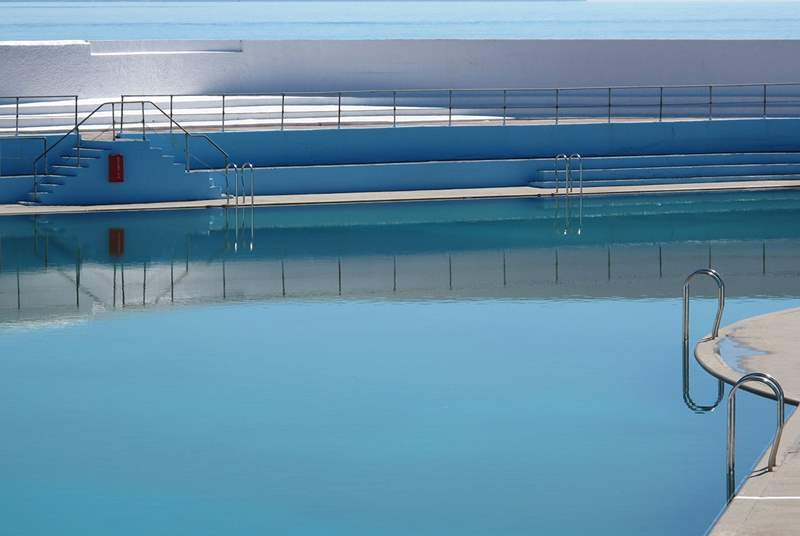 The outdoor Jubilee swimming pool in Penzance, just two miles away.