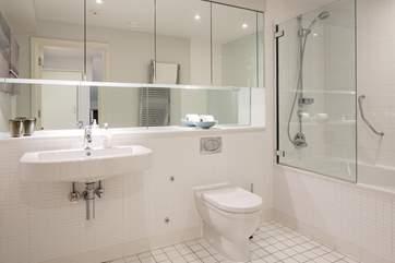 Superb large family bathroom on the ground floor.