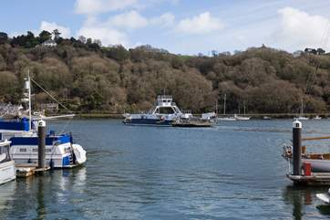 The higher ferry ensures that should you wish to explore 'the other side', you're only a short ferry crossing away.