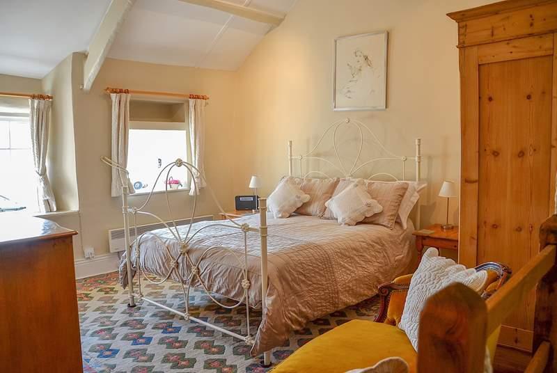 The gorgeous romantic bedroom.