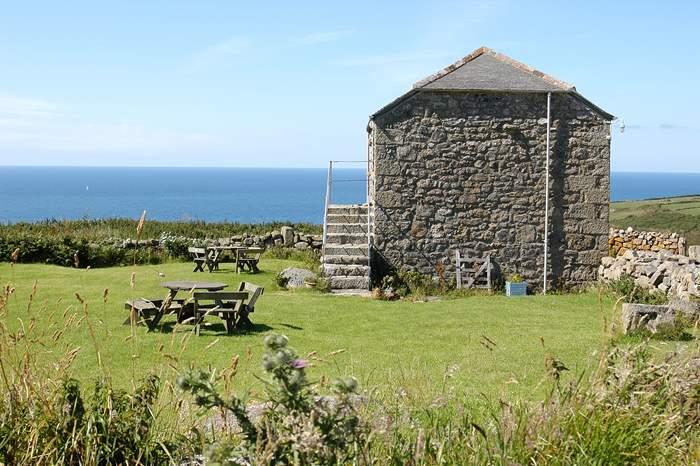 Cottages near Zennor Head