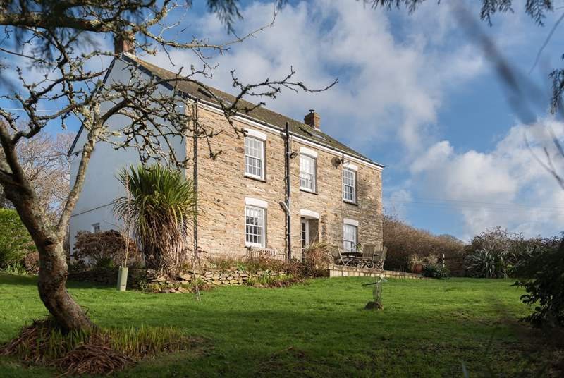 Higher Carnon Farmhouse is a beautiful old stone-built property.