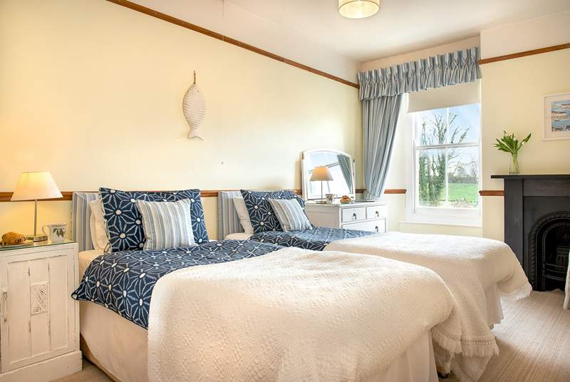 Butterwell House has four gorgeous bedrooms.