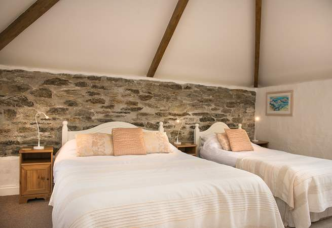 The Malt House has five individually styled bedrooms.