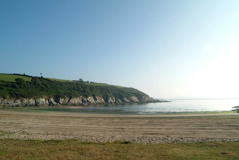 Maenporth beach.