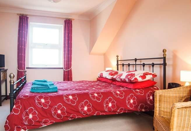 The master bedroom has wonderful views (Bedroom 1).
