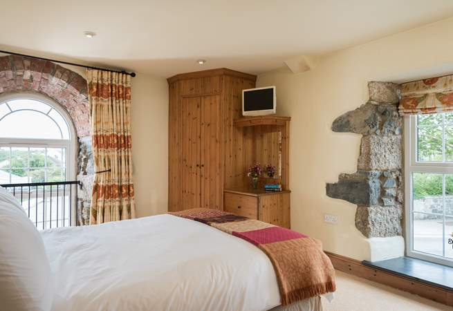 The bedrooms are comfortably furnished.