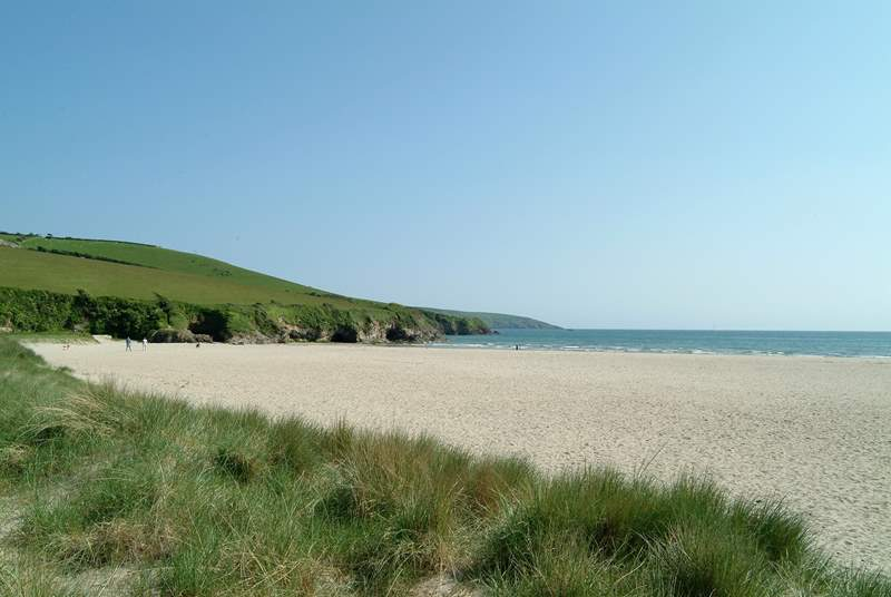 Par Sands is half an hour away, perfect for dog walking.