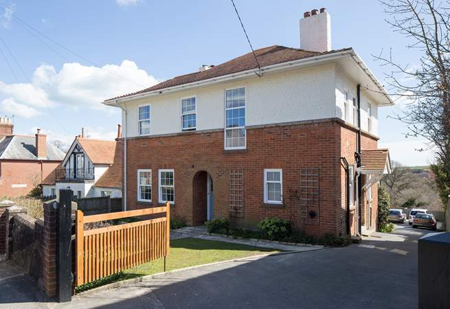 Sunnyholme and the view that greets you, a lovely family home.
