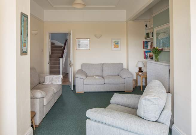 There are plenty of comfortable sofas for relaxed evenings in.