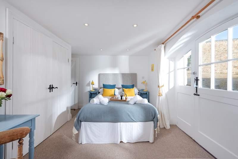 Your comfortable double bed in the en suite main bedroom.