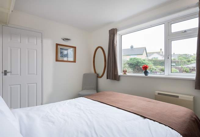 The en suite double bedroom is at the front of the house.