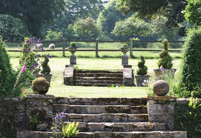 Discover the gardens at Manor Farm. Exploring and enjoying them are part and parcel of staying at The Lodge.