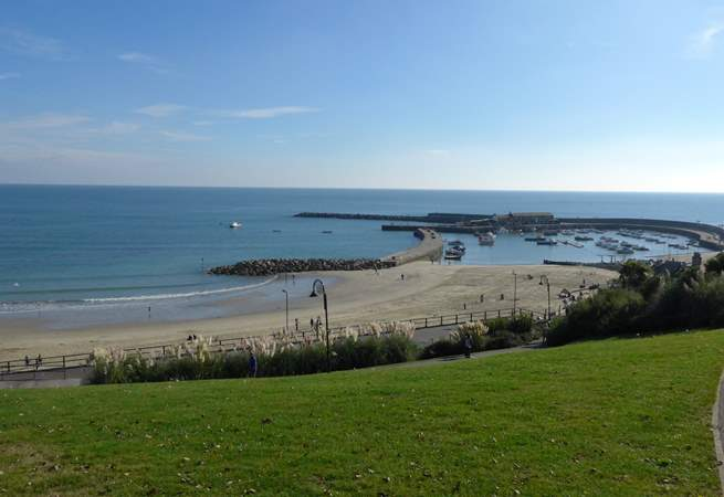 Lyme Regis - with the famous Cob Harbour - is a wonderful nearby coastal town.