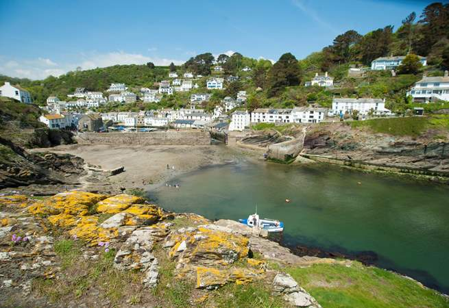 Picturesque Polperro is close by.