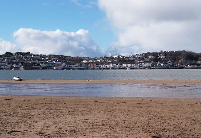 Appledore and Instow face each other across the Torridge Estuary - these are both very popular for outings on the coast.