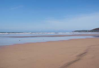 North Devon is renowned for its incredible coastline, miles and miles for all the family to enjoy. Great for surfing, kite surfing and walking.