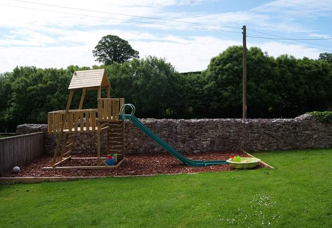 There is a fabulous play-area for children in the garden - as well as the games-room.