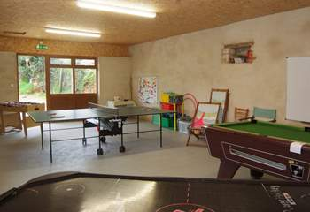 There is an excellent games room for all ages of children (and grown ups !)